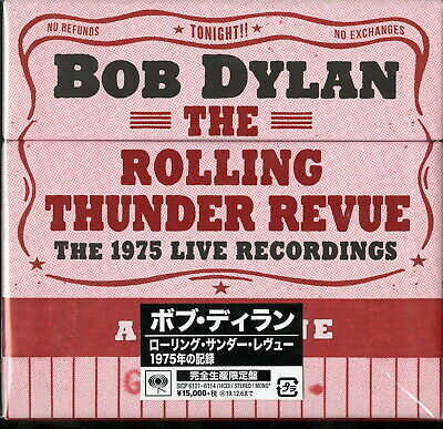 BOB DYLAN-THE ROLLING THUNDER REVUE:THE 1975...-IMPORT 14 CD+BOOK Ltd/Ed AM38
