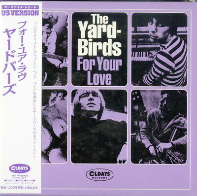 Yardbirds-For Your Love-Japan Mini Lp Cd Bonus Track C94