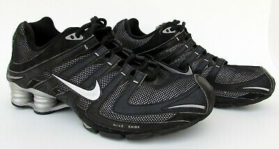 official photos a4616 da524 NIKE Shox Premium Navina Black Sparkle Running Shoes Womens 8.5 - 392868-001