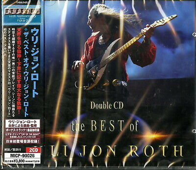 Uli Jon Roth-The Best Of Uli Jon Roth-Japan 2 Cd Bonus Track I50