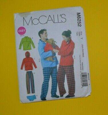 Xsm Sm Md Womens//Misses Wide Legged Pants Sewing Pattern//McCall/'s Mp300 Y sz