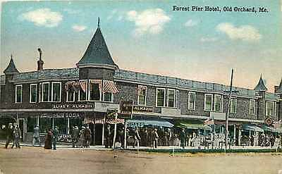 Postcard Forest Pier Hotel, Old Orchard, Maine - circa 1910