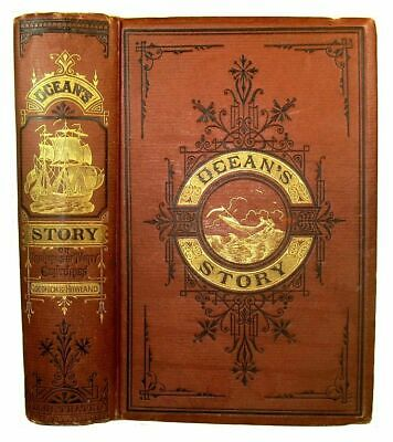 MARITIME HISTORY Ship SHIPWRECKS 1873 NAUTICAL Sea PIRATE Shark EXPLORATION Sail
