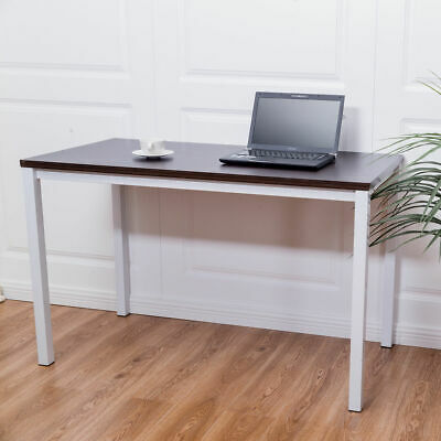 Costway Home Office Desk Computer PC Writing Table Workstation Wooden