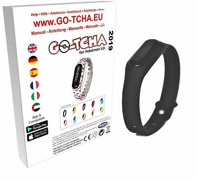 Go-Tcha 2019 LED-Touch-Armband Black Edition für Pokémon Go (Black Edition 2019)