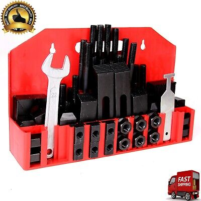 Made Of High Grade Steel Slot Clamp Kit Wide Range Of Workpieces Securely Tool