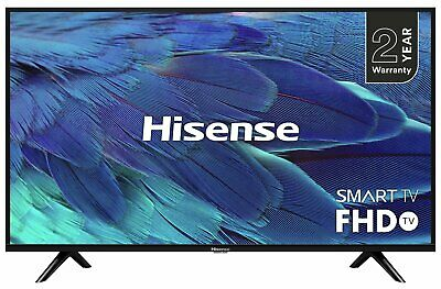 Hisense H40BE5500UK 40 Inch 1080p Full HD Smart WiFi LED TV - Black.