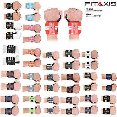 Weight Lifting Wrist Wrap With Thumb Loop Xfit,Powerlifting, Gym Training Straps