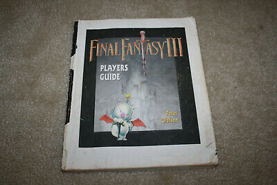 Final Fantasy III 3 SNES Official Player's Strategy Guide Olafson - Y629