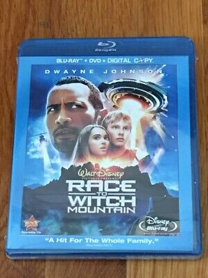 Race To Witch Mountain (Blu-ray/DVD/Digital Copy) BRAND NEW / FACTORY SEALED