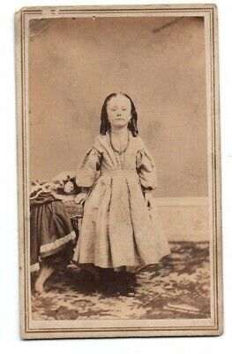 Antique CDV Photo Baltimore , Groom's Studio ID'd Dated 1862 Tax Stamped