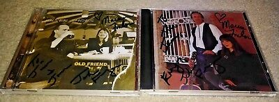 Silver Shoes -  Old Friend & Selftitled - 2 Autographed CDs
