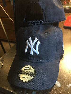 New York Yankees MLB My First 940 Stretch Fit Baseball Hat Cap 1st Kid's Toddler