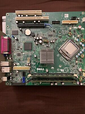 GENUINE DELL OPTIPLEX 360 Motherboard Socket 775 0T656F With INTEL  E7500-4GB RAM
