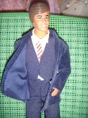 No Box ! Mattel's  Day & Night Ken Doll, Original Outfit,Needs Blue Shoes