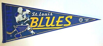 St.louis Blues Nhl Hockey Stanley Cup Champ Vintage Pennant