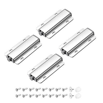 Magnetic Touch Press Catch Latch for Home Furniture Cabinet Door Cupboard 4 Sets