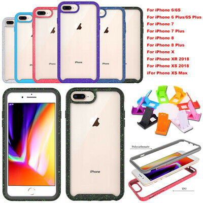 For iPhone XS MAX XR X 8 7 6s Plus Heavy Duty Shockproof Case Cover Shock Proof