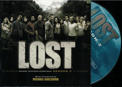 LOST SEASON 2 / MICHAEL GIACCHINO - Original TV Soundtrack - NEAR MINT 2006 CD
