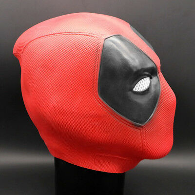 2 Wade Cosplay Deadpool Christmas Funny Cosplay Party Adult Face Mask Red LU7