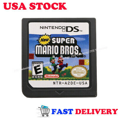 HOT New Super Mario Bros Game Card For Nintendo 3DS 2DS DSI DS XL Christmas Gift