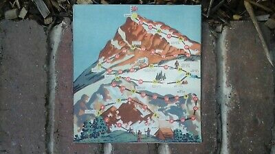 Weeties Cereal Box Cut Out Mountain Game
