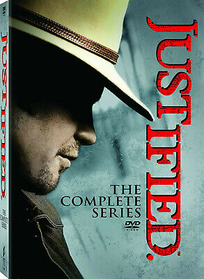 Justified: The Complete Series season 1 2 3 4 5 6  (DVD, 2015, 19-Disc Set)