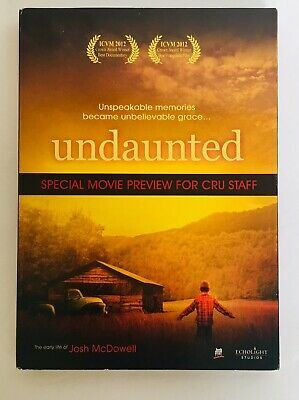 UNDAUNTED-THE EARLY LIFE OF JOSH McDOWELL (DVD, 2011 Christian Film  SEALED Fast