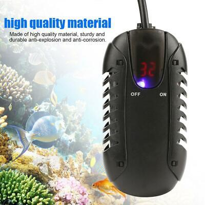 100W Aquarium Fish Turtle Tank LED Digital Heater Submersible Thermostat UK Plug