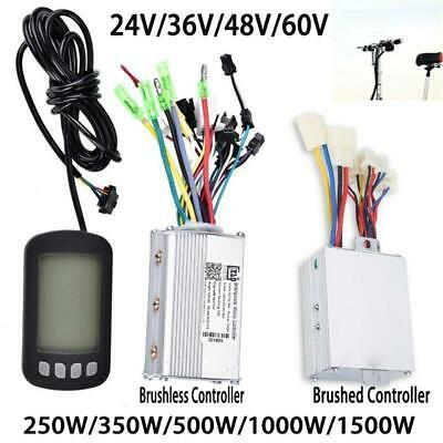 24/36/48/60V 250/1500W Electric Scooter Speed Controller Motor For Bike Bicycle~