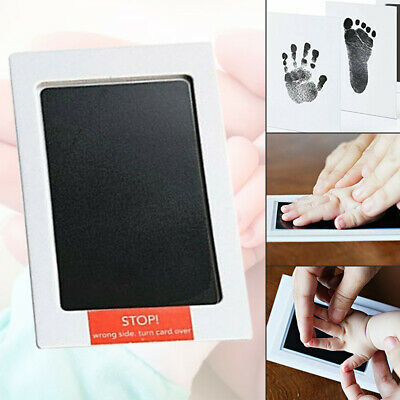 Baby Paw Print Pad Foot Photo Frame Touch Ink Pad Baby Item Souvenir Gift Newly