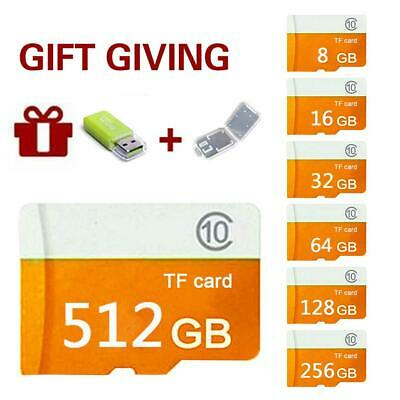 8/16/32/512GB TF Memory Card Micro SD Card HC Class 10 80MB/s For Phone Camera