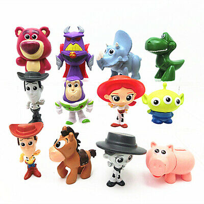 Toy Story Ensemble 12 figurines à collectionner Woody Jessie Bunny Modele Jouet