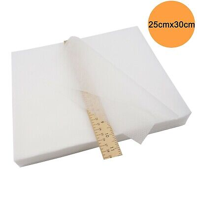 No Show Mesh 25cm X 30cm Embroidery Stabilizer & Backing - 100 Precut Sheets