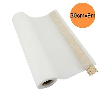No Show Mesh Cut Away 30cm x 9m Machine Embroidery Stabilizer Backing roll