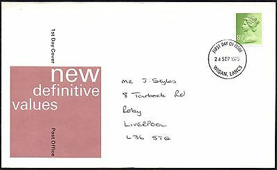 FDC - G.B. 1975 New Definitive Values - First Day Cover