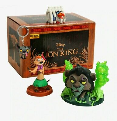 Funko Disney Treasures The Lion King Box Hot Topic, New 100%, Freeship