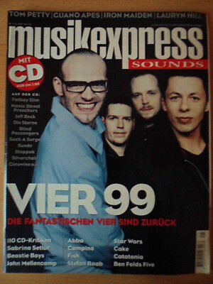 MUSIKEXPRESS 5 - 1999 Fantastischen Vier Tom Petty Iron Maiden Guano Apes Abba