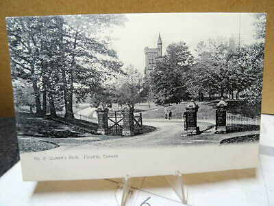 1909 Postcard Queens Park Toronto Canada Unused Private