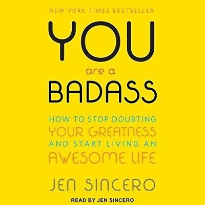 You Are a Badass How to Stop Doubting By Jen Sincero -AUDIOBOOK(Fast e-Delivery)