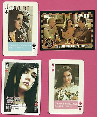 Jennifer Connelly Fab Card Collection American Actress The Rocketeer Labyrinth A
