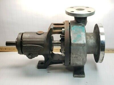 Durco 13 X 1 1/2-6 Stainless Centrifugal Pump 275 Psi D20 Alloy