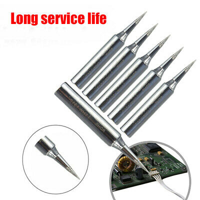 5x Lead Free Replacement Soldering Tools Solder Iron Tips Head 900m-T-I 936I TBU