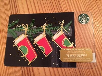"""Canada Series Starbucks """"RED CUP TRIMMINGS 2016"""" Gift Card - New No Value"""