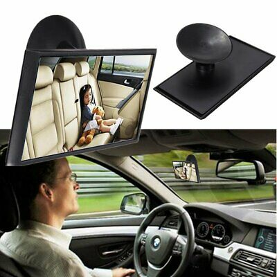 Car Baby Child Inside Mirror View Rear Ward Back Safety Facing Care Infant La ZX