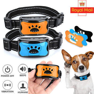 Anti Bark Collar Stop Barking Dog Small Medium Large With Free LED Light 3 Shell