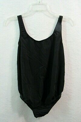 Women's Dividends Maternity Black Bathing Suit Swimsuit Small