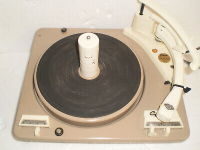 Vintage Garrard / Pilot Model 210 Stereo 4 Speed Turntable