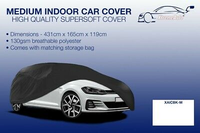 INDOOR BREATHABLE BLUE CAR COVER 130 GSM SOFT PREMIUM QUALITY MERCEDES C CLASS