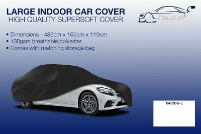 Large Black Indoor Car Cover Protector Mercedes-Benz C-Class 1993-2016